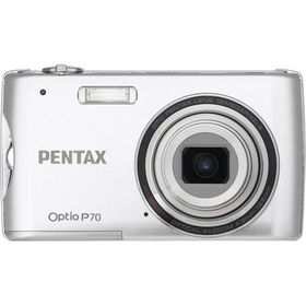 "Silver 12MP Ultra-Slim Digital Camera with 4x Optical Zoom and 2.7"" LCDsilver"