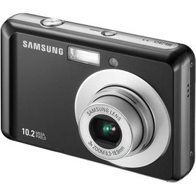 "Black 10.2MP Camera with 3x Optical Zoom and 2.5"" LCDblack"