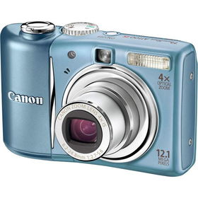 "Blue 12.1MP Slim Digital Camera with 4x Optical Zoom and 2.5"" LCDblue"