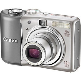 "Silver 12.1MP Slim Digital Camera with 4x Optical Zoom and 2.5"" LCDsilver"