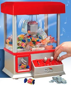 Claw Arcade Machine- Deluxe 2014 Editionclaw